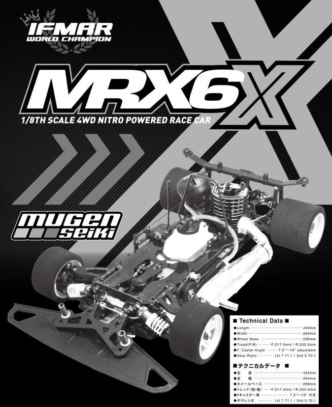 BAUANLEITUNG MRX-6X