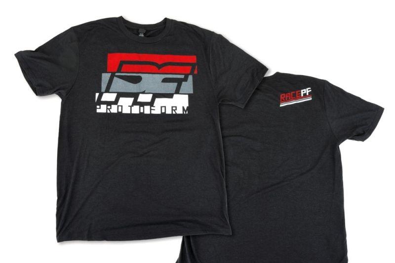 Protoform Slice schwarz Tri-Blend T-Shirt