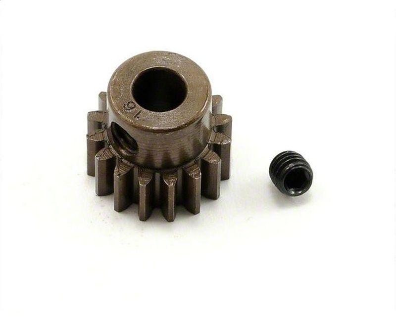 Extra Hart 5mm Bohrung .8 Modul Ritzel 16 Zähne