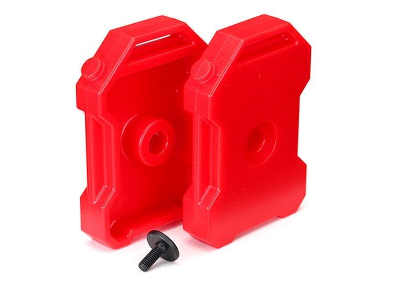 Benzin-Kanister (rot) (2)/ 3x8 FCS (1)