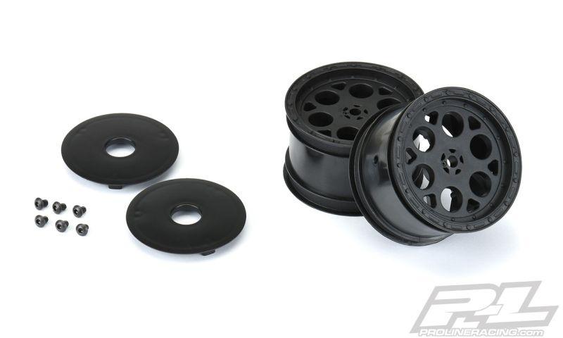 Pro-Line Showtime 2.2  Felge schwarz 12mm Sechskant