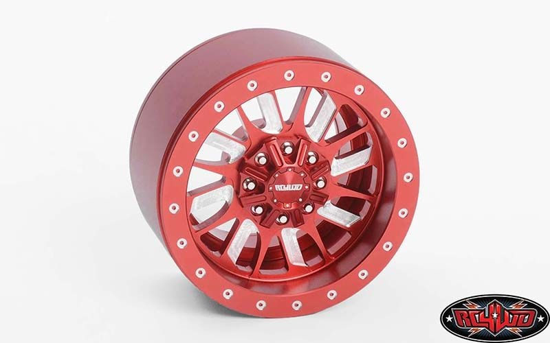 RC4WD Enforcer 1.9 Beadlock Wheels (Red)
