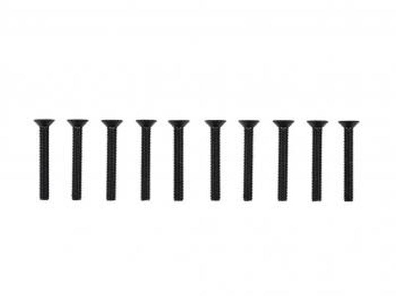 screw allen countersunk m3x22 (10) (SER110198)