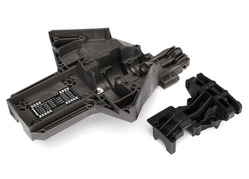 Bulkhead, rear (upper & lower), center differential