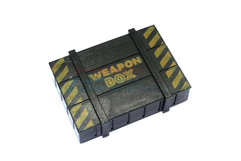 SCALE ACCESSORIES: WEAPON BOX FOR 1:10 SCALE -1PC SET