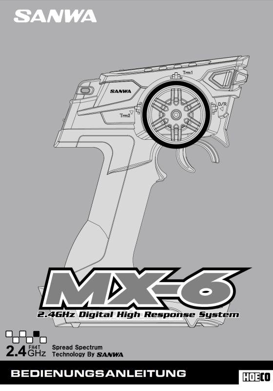 Bedienungsanleitung Deutsch MX6