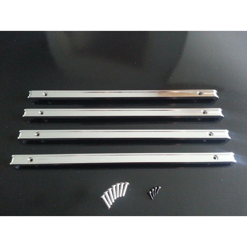 SAMIX Tamyia 1850L aluminum side bumper set (4pcs)