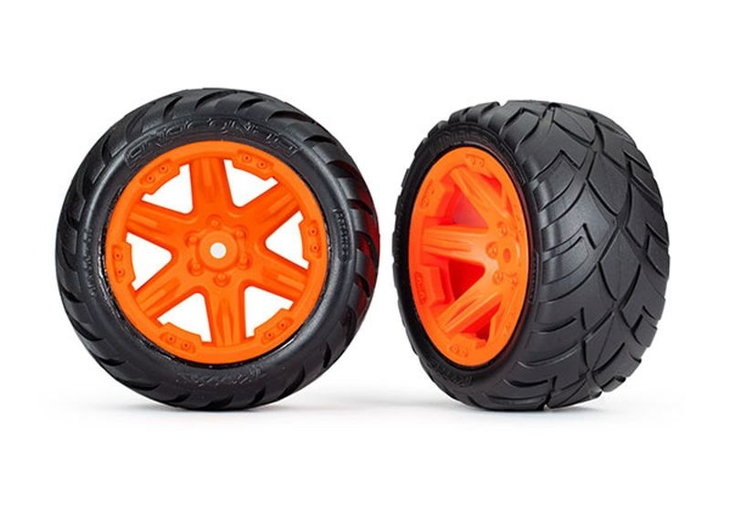 Reifen auf Felge 2.8 RXT orange / Anaconda (TSM rated)