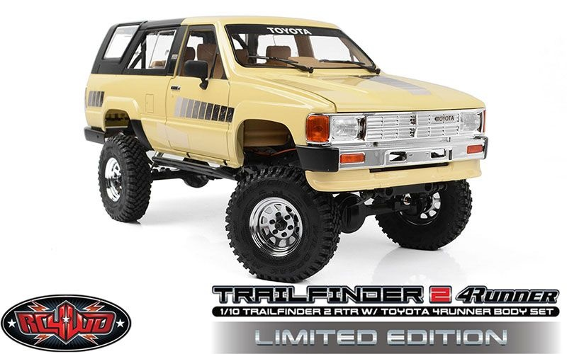 RC4WD Trail Finder 2 RTR w/1985 Toyota 4Runner