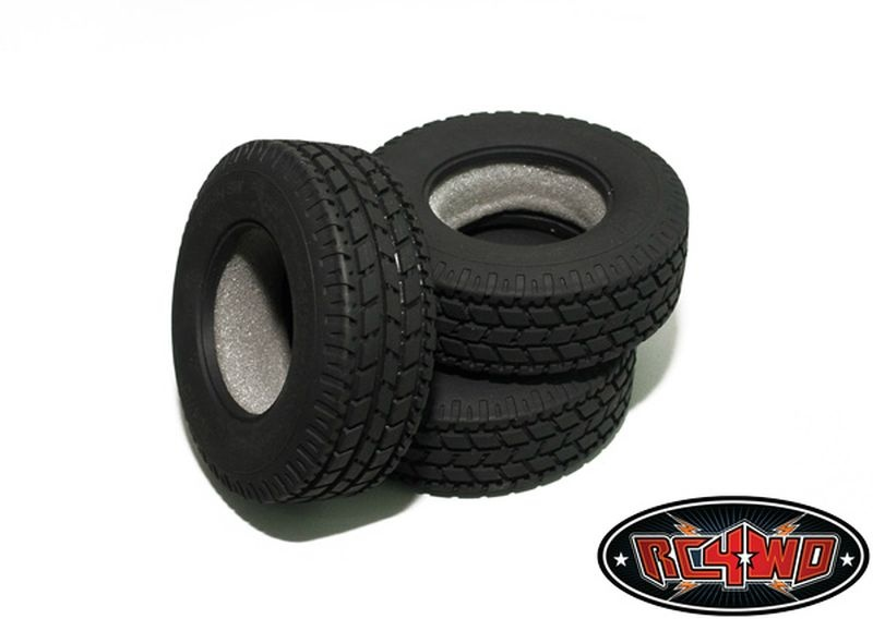 Roady Super Wide 1.7 Commercial 1/14 Semi Truck Tires
