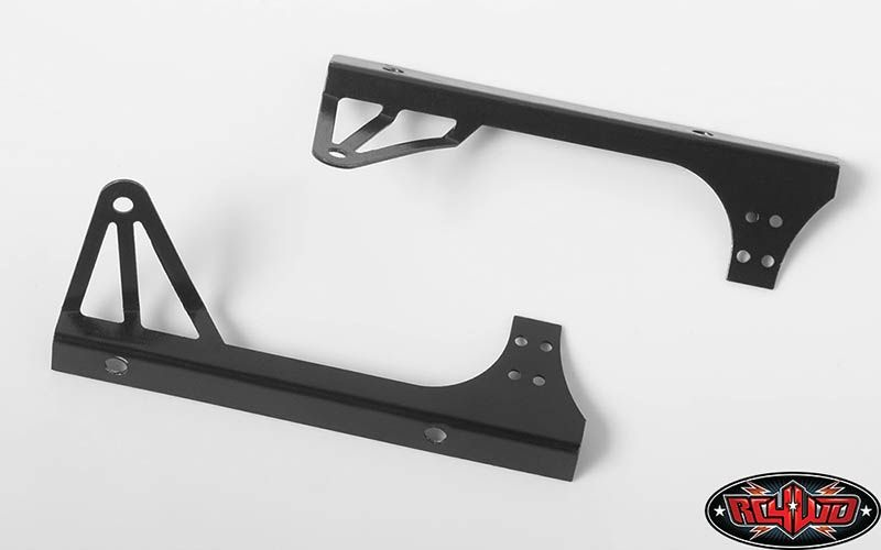SLVR Light Bar Mount for Axial Jeep Rubicon (Black)