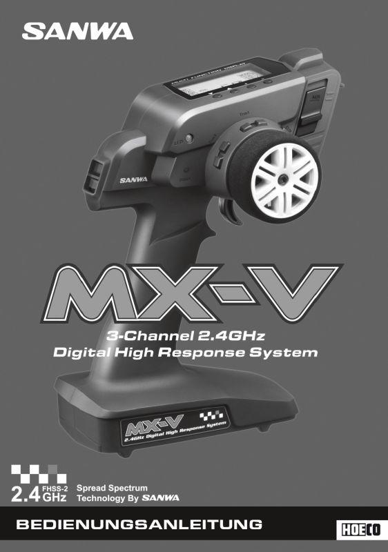 Bedienungsanleitung Deutsch MXV