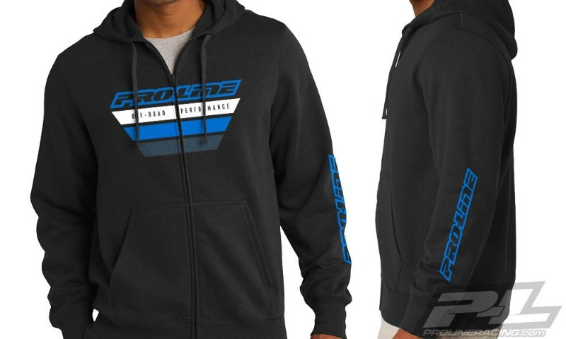 SLVR Pro-Line OP schwarz Zip-Up Hoodie