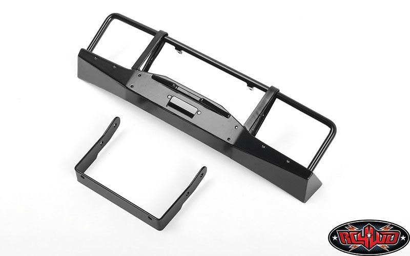 Oxer Metal Front Winch Bumper for JS Scale 1/10 Range Rover
