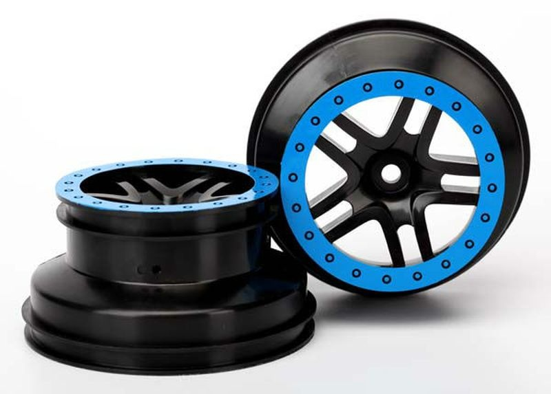 WHEELS, SCT SS BLK/BLUE BEAD (