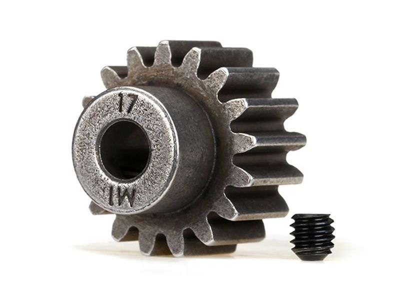 Gear, 17-T pinion (1.0 metric pitch) (fits 5mm shaft)/ set s