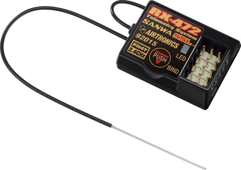 RX-472  Telemetrie / SSL Empfänger **neuer Preis**