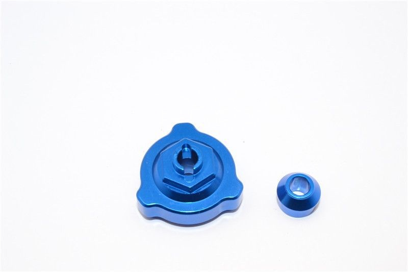 ALLOY SLIPPER SHAFT BEARING ADAPTOR  - 2PCS blue