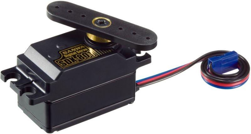 SDX-801 LowProfil Digital-Servo 0,08sec/6,4kg