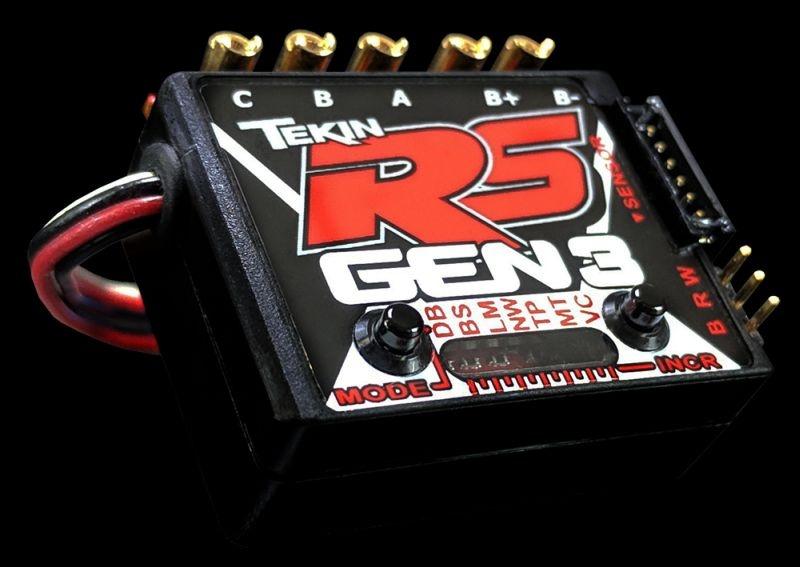 RSgen3 BL Sensored/Sensorless D2 ESC 8.5 turn limit