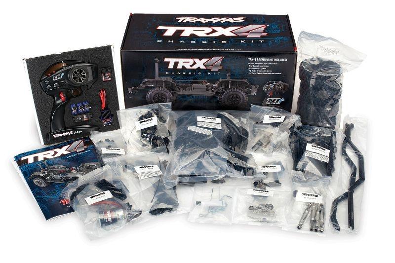 TRAXXAS TRX-4 4x4 Kit (Bausatz) ohne Akku/Lader/Karo