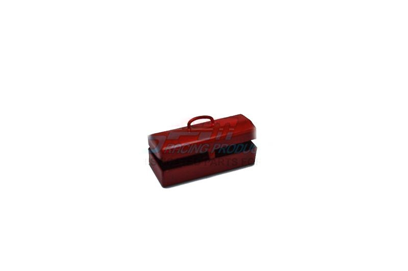 SCALE ACCESSORIES: TOOLBOX FOR CRAWLERS -1PC red