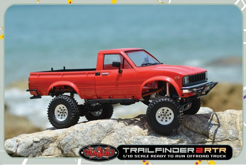 CTR RC4WD Trail Finder 2 RTR w/Mojave II Body Set