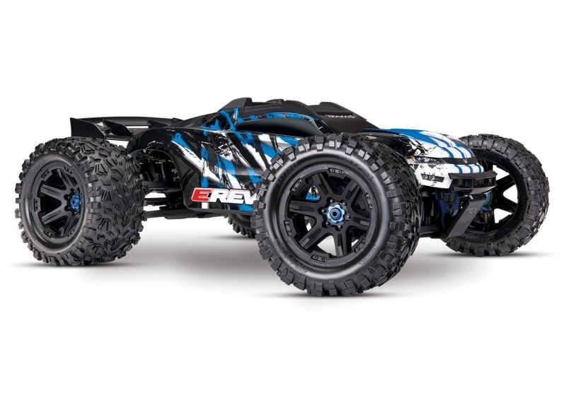 TRAXXAS E-Revo BL 2.0 4x4 VXL blau RTR ohne Akku/Lader
