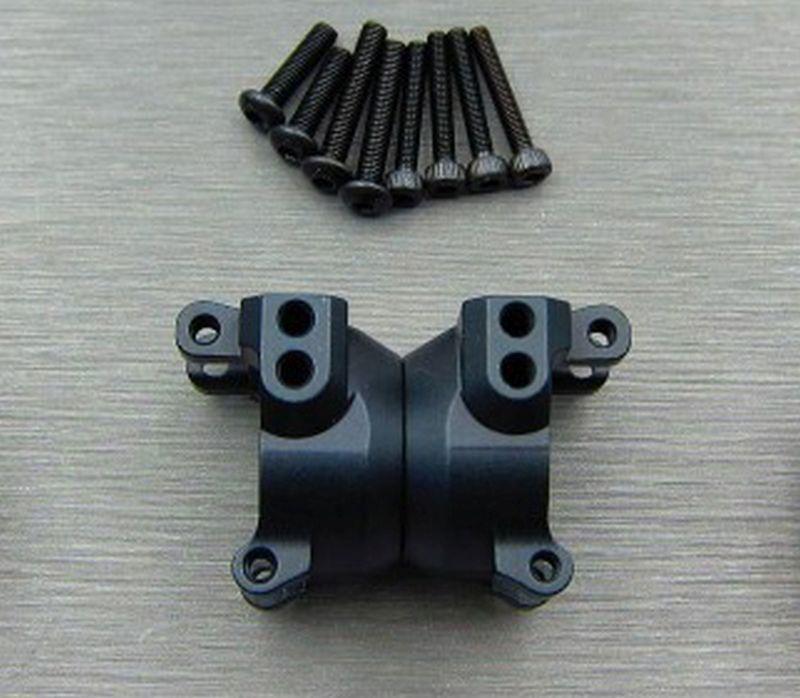 SAMIX TRX-4 alum.black  rear hub carriers