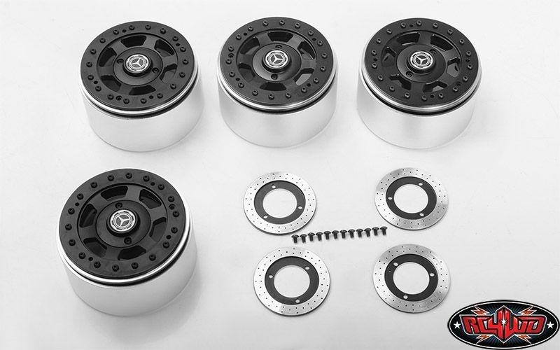 TNK 2.2 Beadlock Wheels w/ Brake Discs (4x)