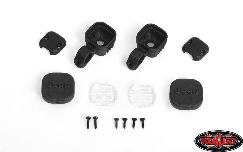 Offroad Light Set for Axial 1/10 SCX 10 III Jeep JLU Wrangle