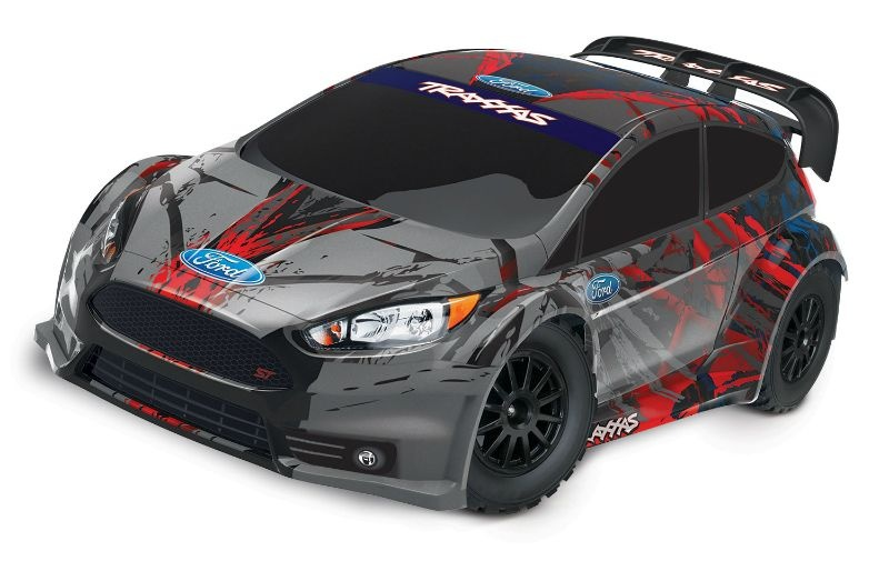 TRAXXAS Ford Fiesta ST Rally / RALLY-BRED