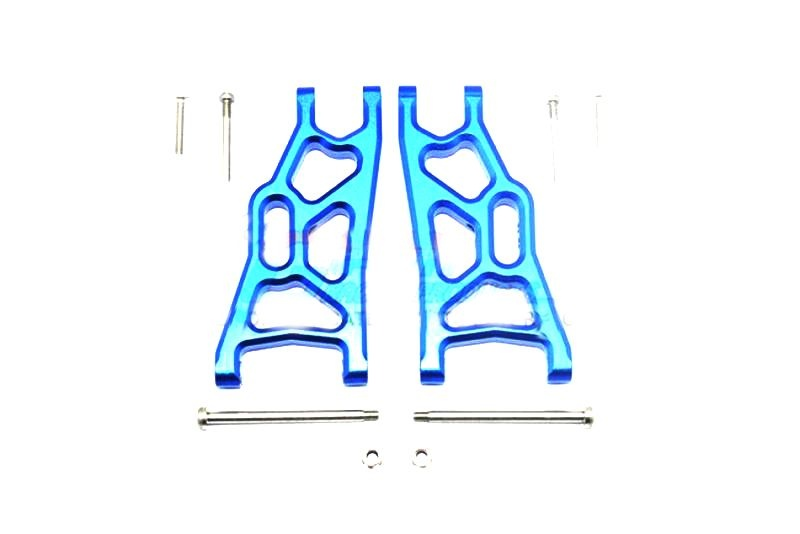 ALLOY FRONT LOWER ARM - 1PR SET blue