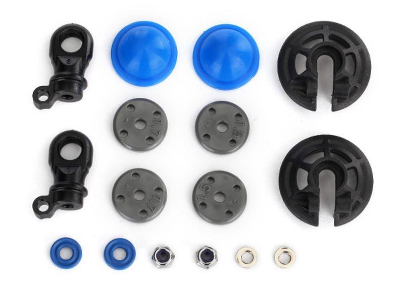 Rebuild-Kit GTR Dämpfer X-Ringe, Bladders, Kolben + KT (je 2