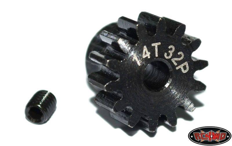 14t 32p Hardened Steel Pinion Gear
