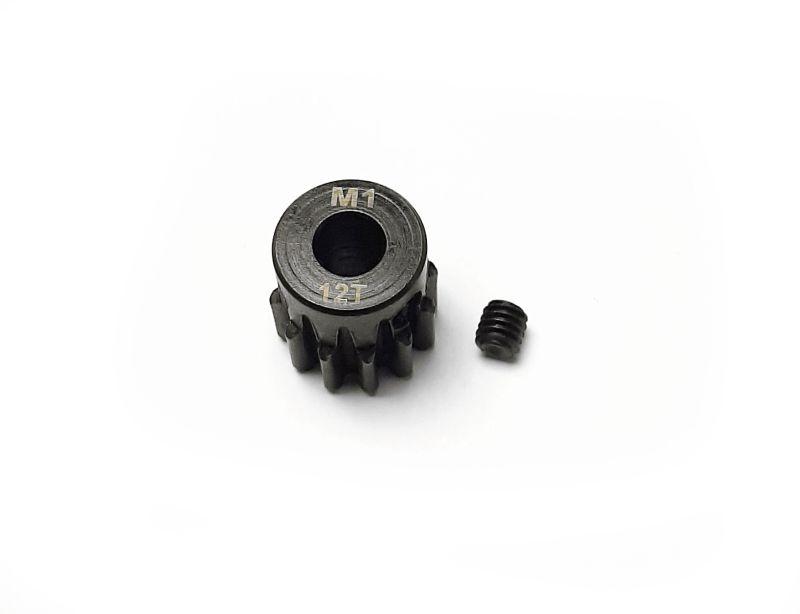 Ritzel 12 Zähne Modul 1, 5mm Stahl