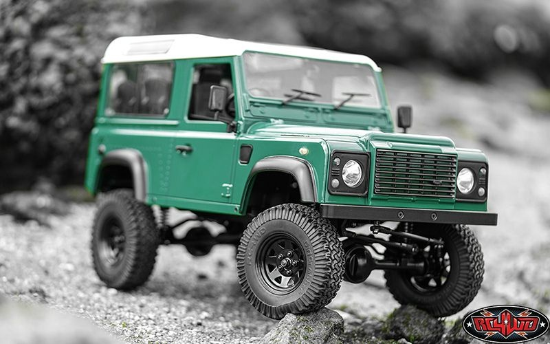 RC4WD Gelände II RTR Truck Kit w/Defender D90 Body Set