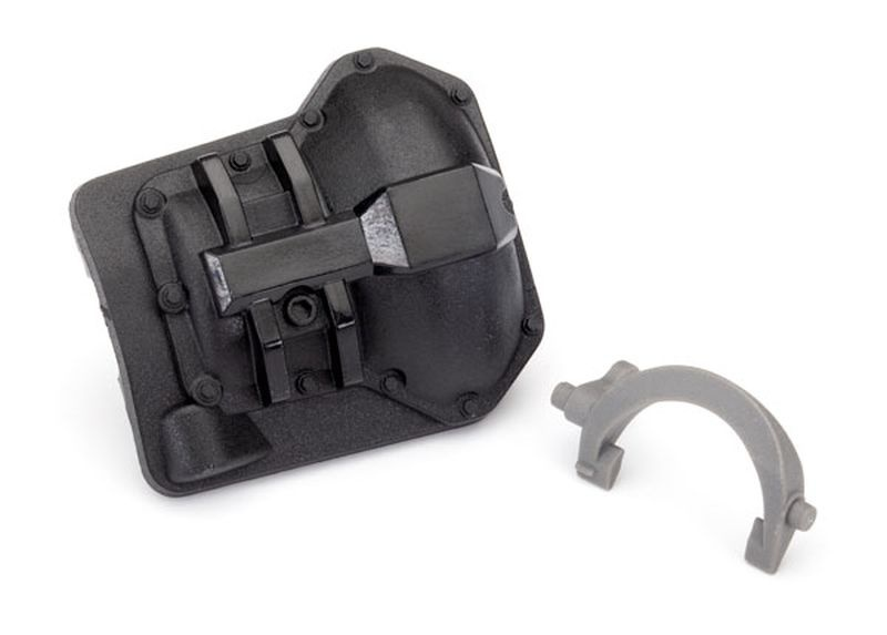 Diff-Cover hinten/T-Lock-Gabel