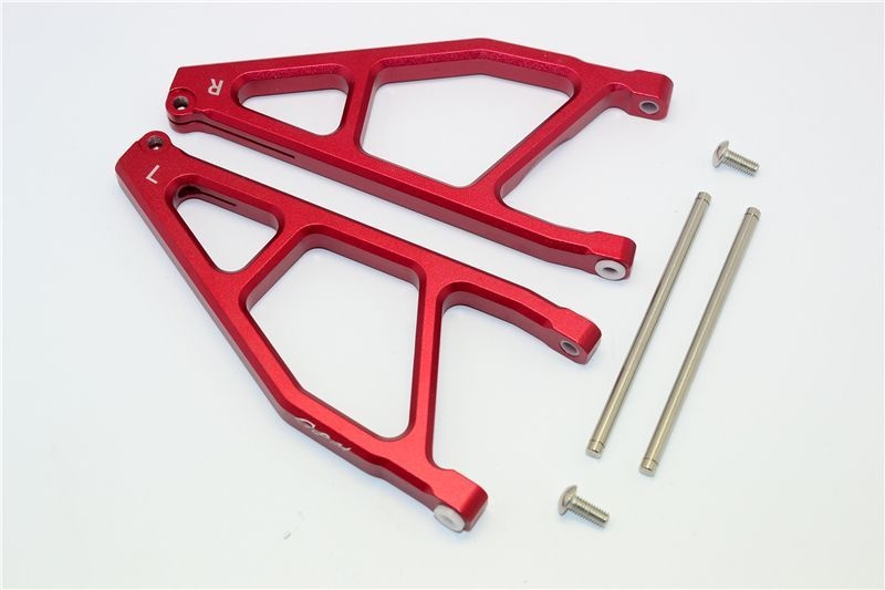 ALUMINUM REAR UPPER ARMS -1PR red