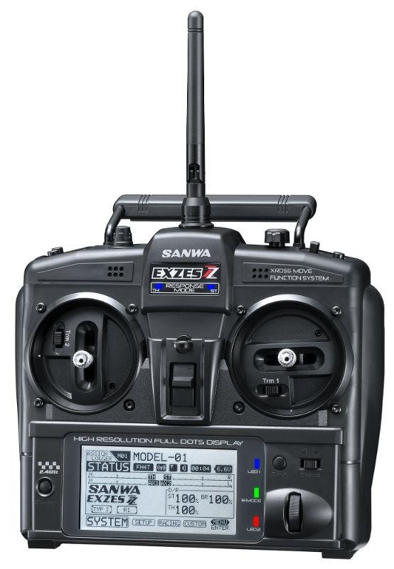 EXZES ZZ 2.4G PC / RX-472 / ohne Servos / TX/RX