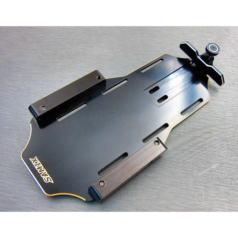 SAMIX Enduro brass forward adjustable battery tray kit