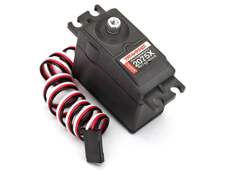 Servo, digital high-torque, Metallgetriebe (Kugellager), wat