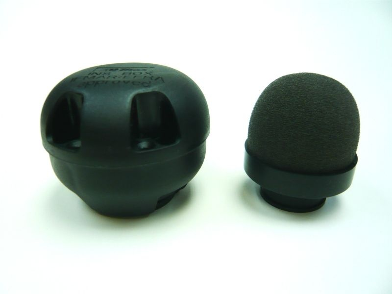 INS-Box XS schwarz mit Filter