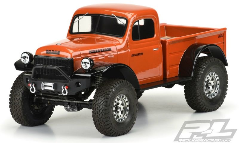 ProLine 1946 Dodge Power Wagon Karo klar