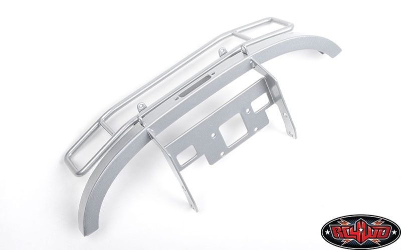 Ranch Steel Front Winch Bumper for Axial 1/10 SCX10 II UMG10