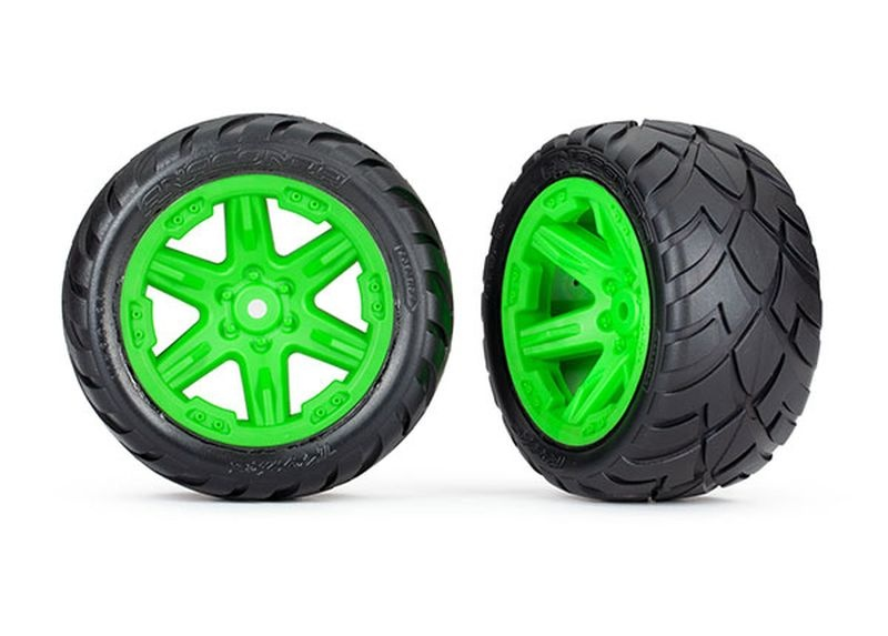 Reifen auf Felge 2.8 RXT grün / Anaconda (TSM rated)