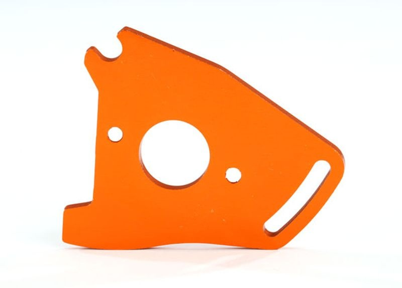 Motorplatte orange