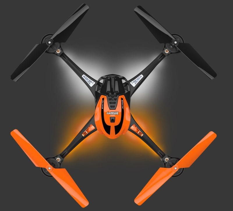 ALIAS orange Quad-Copter High Performance Ready-to-Fly (RTF)