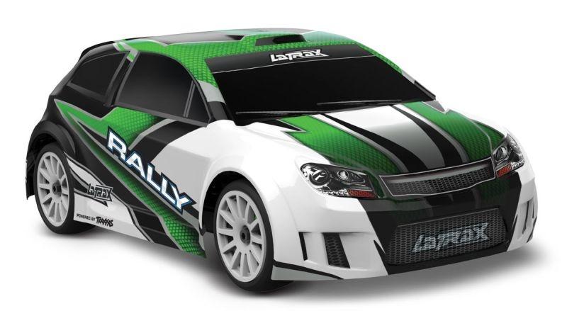 LATRAX Rally 4x4 grün RTR +12V-Lader+Akku