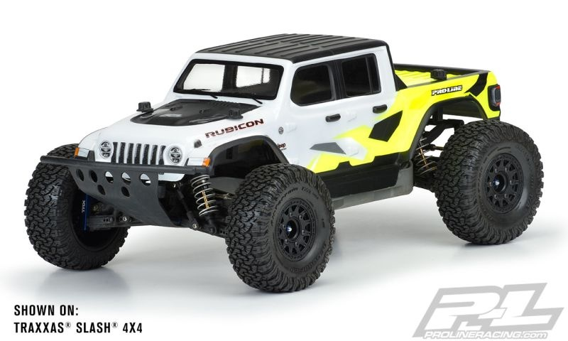 Pro-Line Jeep Gladiator Rubicon Karo klar